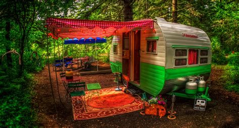 live off grid travel in this beautiful tiny home caravan how to live in freedom off the grid with little money