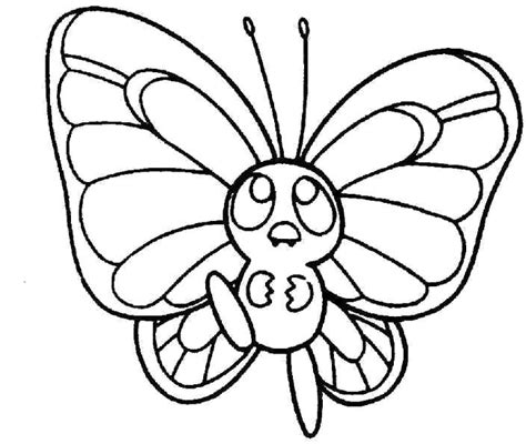 Small Butterfly Coloring Pages small butterfly coloring page stitches