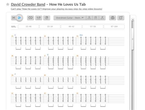 How He Loves Us Lyrics And Chords David Crowder - gaurani ...