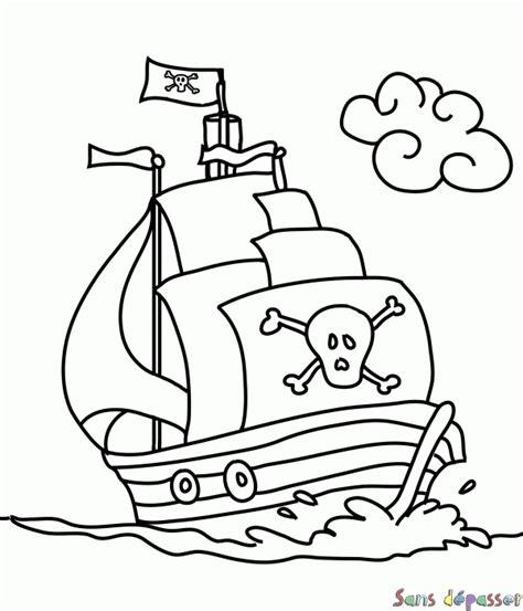 dessiner un bateau pirate dessin bateau pirate