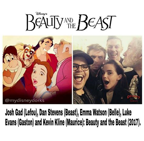 and the beast 2017 cast beauty and the beast cast 2017 disney etc pinterest