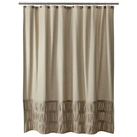 tan curtains target target home rouched shower curtain kids new bathroom