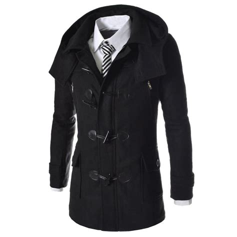 new year wool jacket new brand duffle coat 2016 autumn winter fashion