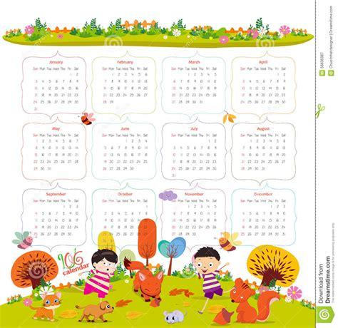 Calendrier Kinder 2017 2016 Calendar Calendar Template 2017