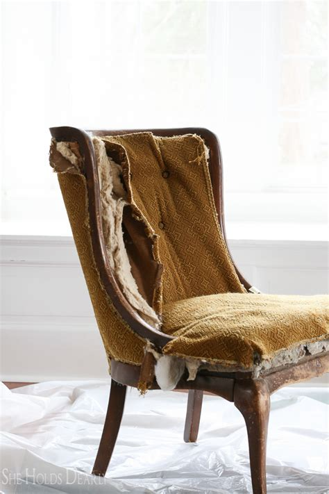 Reupholstering An Armchair by Reupholster Antique Chair Antique Furniture