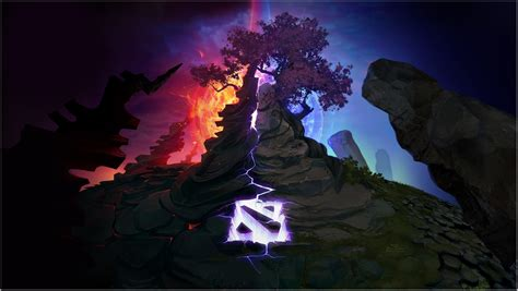 dota 2 logo wallpaper for android dota 2 wallpapers for android mobile beautiful collection