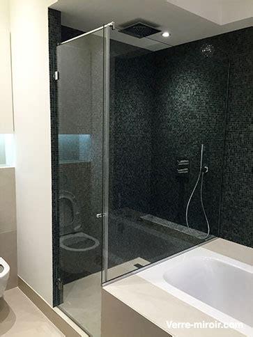 paroi  porte de douche sur mesure