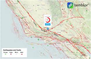 san andreas california map volcano madness californiadisasters usgs study finds