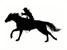 Barrel Racing Home Decor quot rodeo theme barrel racer silhouette quot art prints by