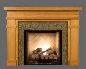 wood fireplace mantel surrounds bridgeport american series