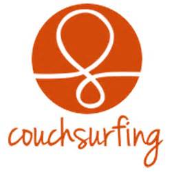 couch surfing logo find places to stay around the world