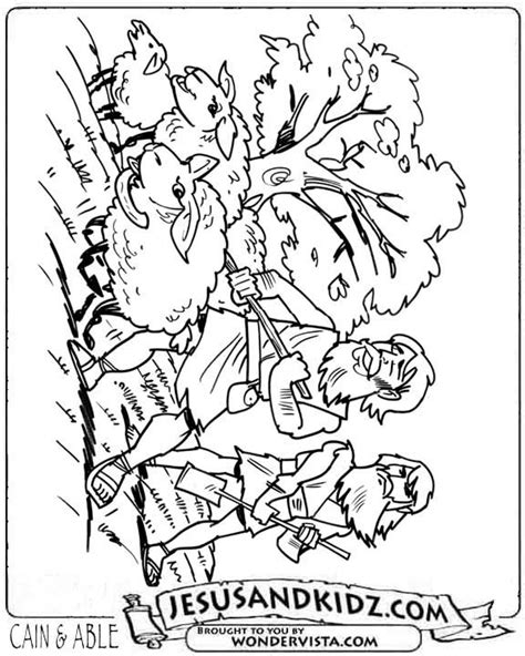 cain and abel bible coloring pages pinterest