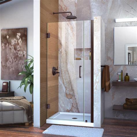 Dreamline Unidoor 33 To 34 In X 72 In Semi Framed Hinged Dreamline Unidoor Shower Door