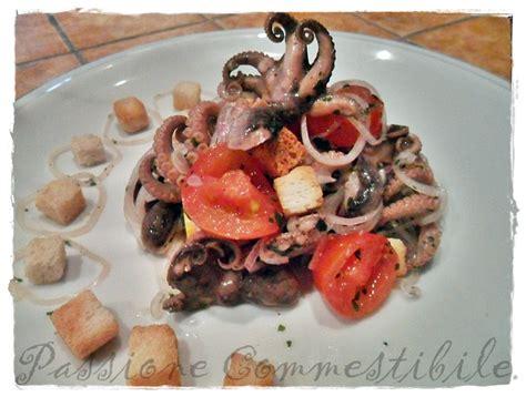 cucinare moscardini freschi moscardini in insalata