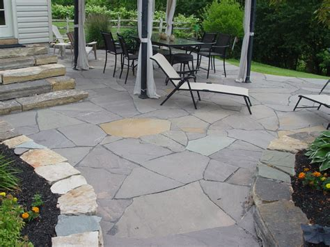 flagstone patios traditional stone masonry natural stone hardscaping