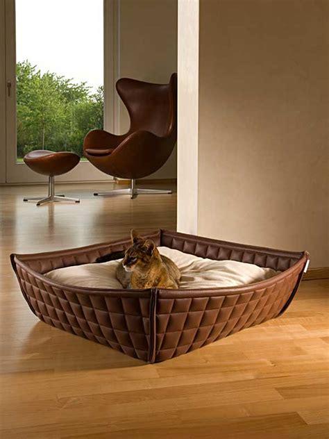 letto per gatti letti per gatti in pelle o feltro elegante e di ottima