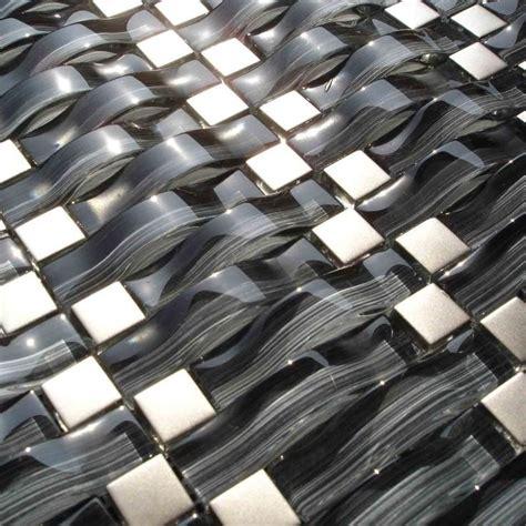 Images Of Kitchen Backsplash Tile Exotiles Hg 84031 Wave Pattern Mosaic Tile 37 00 Http