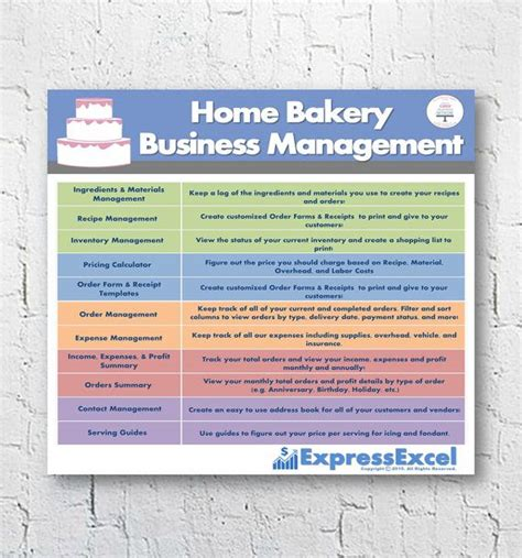 Bakery Manager Needed by 25 Best Ideas About Home Bakery Business On