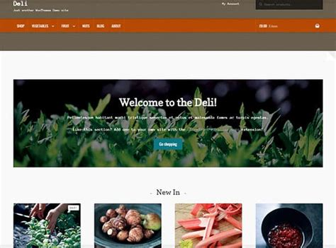 tema deli woothemes template wordpress
