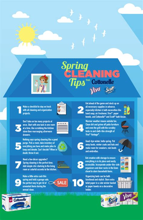 spring tips how to have fun spring cleaning