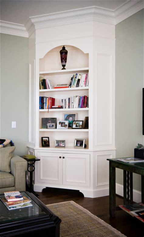 painted corner cabinet living room charleston hostetler custom cabinetry