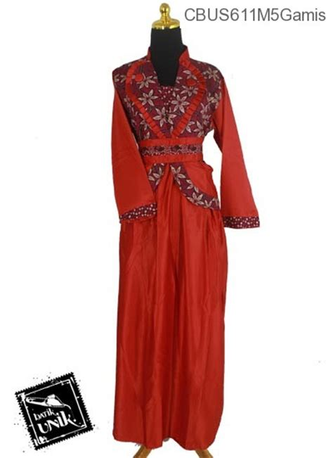 Cari Baju Gamis Murah Baju Batik Sarimbit Gamis Motif Kembang Regolan Tumpal