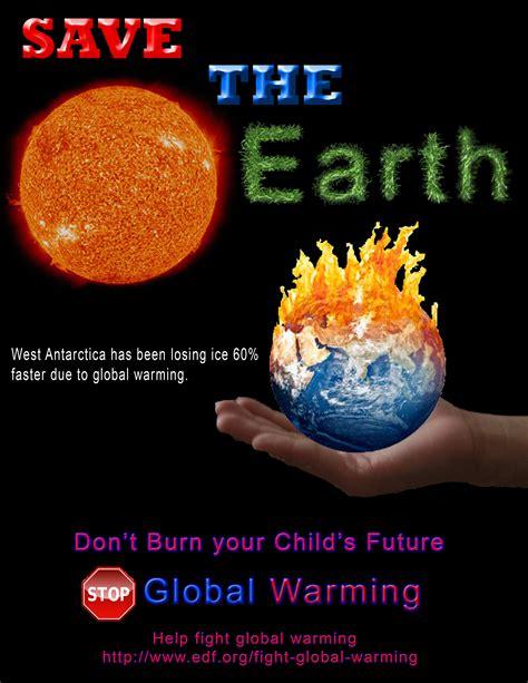 membuat poster global warming poster of global warming for social media download free