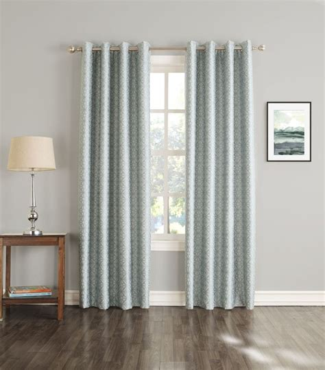 103 inch curtains brooks printed insulated curtain natural 54 inches x 84