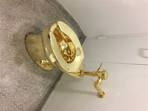 golden toilet maurizio cattelan s golden toilet at the guggenheim museum