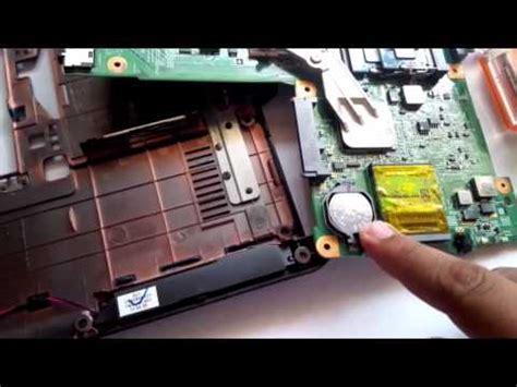 como cambiar la pila del bioscmos de una laptop hp pav