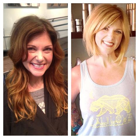 cut before dye hair andrea miller hair before and after san diego color