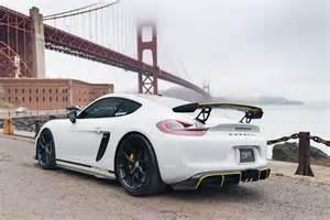 Porsche Cayman Custom Custom Porsche Cayman Gt4 Vorsteiner Hre Wheels