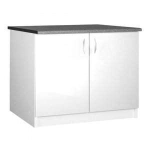 plan de travail cuisine 120 cm meuble cuisine bas 120 cm sous 233 vier oxane blanc achat