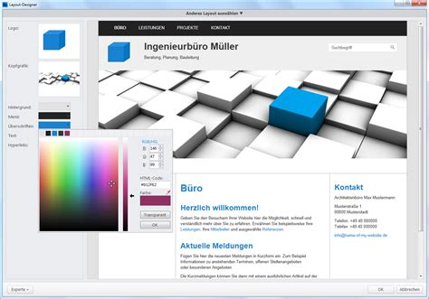 content management system templates business homepage templates professionelle websites