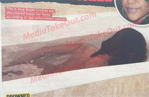 whitney houston died in bathtub national enquirer released photos of the junkie bobbi