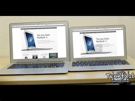 Mba 11 Vs 13 by 2011 11 Quot Vs 13 Quot Macbook Air Review Comparison