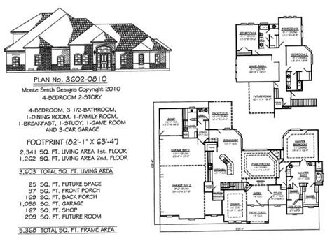 2 story 4 bedroom house plans 4 bedroom 2 story house floor plans vdara two bedroom loft
