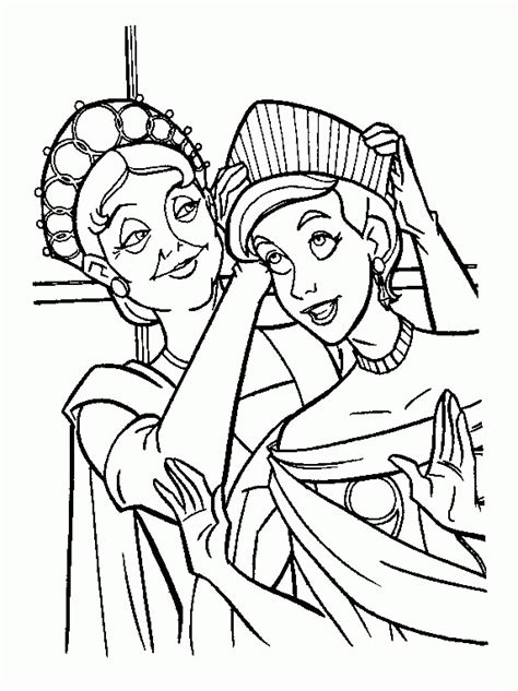 free beautifull princess anastasia coloring pages