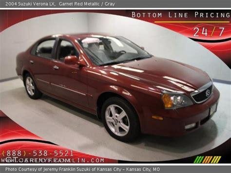 2004 Suzuki Verona Lx by Garnet Metallic 2004 Suzuki Verona Lx Gray