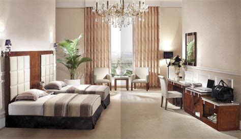 china hotel double standard room modern style fabric