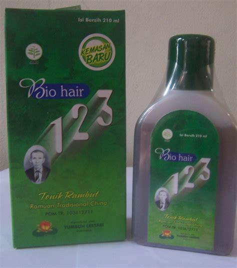 bio hair 123 obat penumbuh rambut permanen no 1