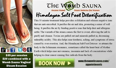Ionic Himalayan Salt Foot Detox Blocks by 149 Best Images About Yoni Appreciation On
