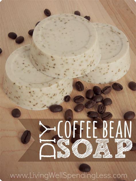 Coffee Soap diy coffee bean soap essentials diy gift ideas