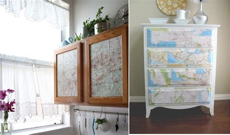 Decorating With Maps by 8 Unique And Ways To Decorate With Maps