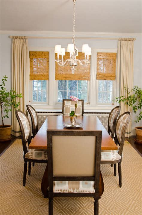 Dining Room Window Curtains Decor How To Brighten Up A Bad View With Window Blinds Curtains And Shades