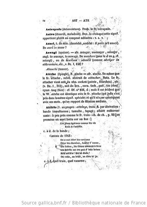 Dictionnaire étymologique de la langue wallonne ([Reprod