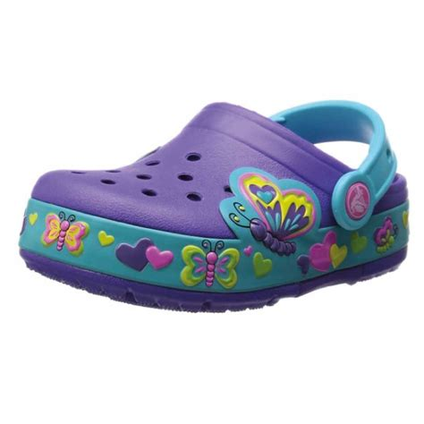 crocs crocslights butterfly ps clog toddler kid