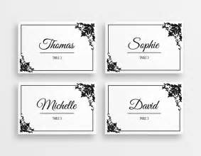 best place to print business cards printable black white wedding place cards