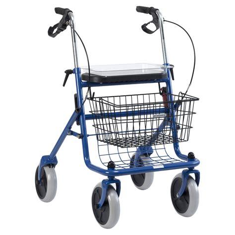 Apotheke Korb rollator mit korb und tablett blau 1 st 252 ck