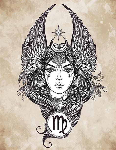 virgo tattoo ideas virgo designs
